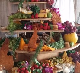 Fruit&Cheese Tower Display #1